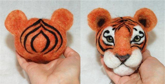 Сделать своими рукам тигра 48